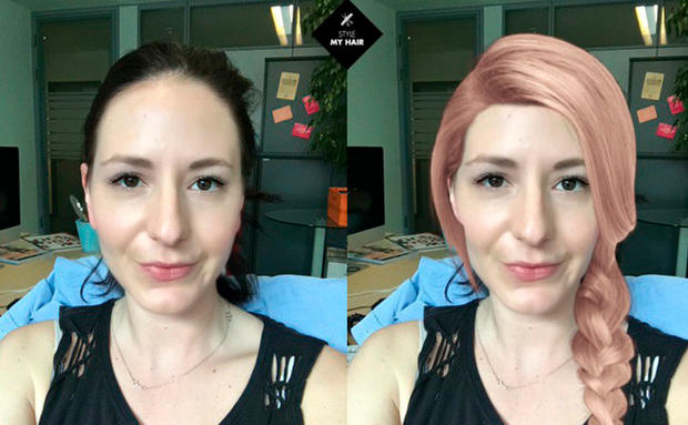 Style My Hair App Im Test Haarfarbe Und Frisuren • WOMAN AT