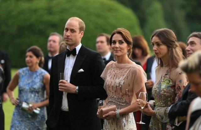 Принц Уильям и Кейт Миддлтон посетили благотворительный вечер в Норфолке