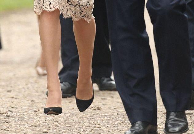 Летающая герцогиня: оптическая иллюзия заставила Кейт Миддлтон летать