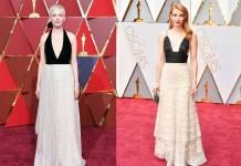 Эмма Робертс и Мишель Уильямс пришли на Оскар 2017 в похожих нарядах
