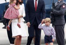 Принц Уильям и Кейт Миддлтон с детьми прибыли в Варшаву