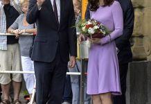 Принц Уильям и Кейт Миддлтон отправились из Берлина в Гамбург, а затем домой в Лондон