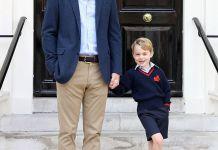 Сын принца Уильяма и Кейт Миддлтон пошёл в школу