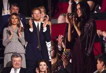 Принц Гарри и Меган Маркл посетили Игры непокорённых