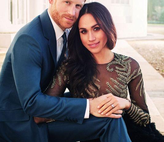 Официальные портреты принца Гарри и Меган Маркл в честь помолвки