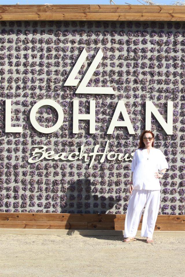 Линдси Лохан открыла ещё один клуб в Греции под своим именем