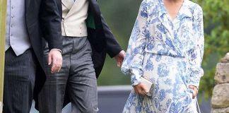 Дорогое платье и свадебные туфли - наряд Меган Маркл со свадьбы племянницы принцессы Дианы не понравился модным критикам