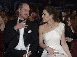Принц Уильям и Кейт Миддлтон посетили премию BAFTA 2019