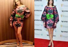 Алекса Чанг и Миранда Керр в платье Gucci