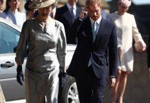 Принц Гарри избегал брата на Пасхальной службе
