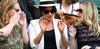 Меган Маркл посетила Уимблдонский турнир 2019