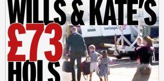 Принца Уильяма и Кейт Миддлтон раскритиковали за перелёт бюджетным авиарейсом