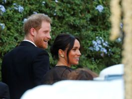 Герцог и герцогиня Сассекские на свадьбе в Риме