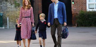 Кейт Миддлтон сходила с детьми в супермаркет