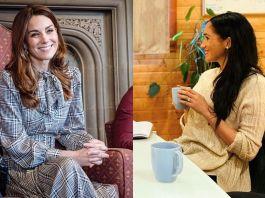 Экономные герцогини: Кейт Миддлтон в платье из масс-маркета и Меган Маркл в старой одежде