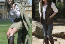 Любимые сапоги Кейт Миддлтон снова стали предметом обсуждения в интернете