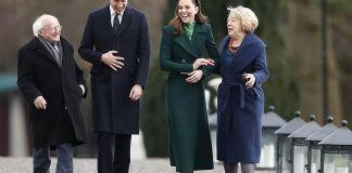 Принц Уильям и Кейт Миддлтон прибыли в Ирландию на 3 дня