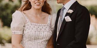 Необычный свадебный наряд принцессы Беатрис: бабушкино платье вместо свадебного