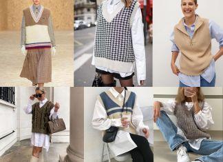 Какие выбрать и с чем носить вязаные жилеты 2020