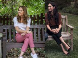 Герцогини в брюках: расслабленный стиль Кейт Миддлтон и деловой стиль Меган Маркл
