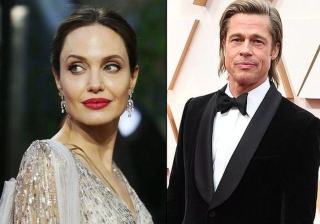 Брэд Питт расстался со своей возлюбленной, а Анджелина Джоли рассталась с адвокатом