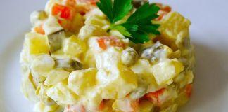 Необычные варианты традиционных новогодних салатов