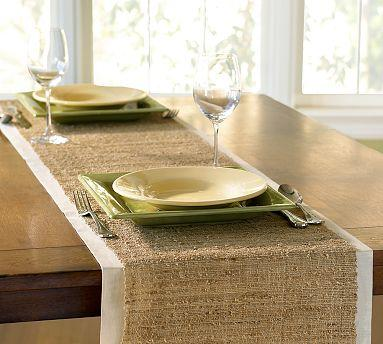 Idee per decorare la tavola ma che bont - Runner per tavolo ...