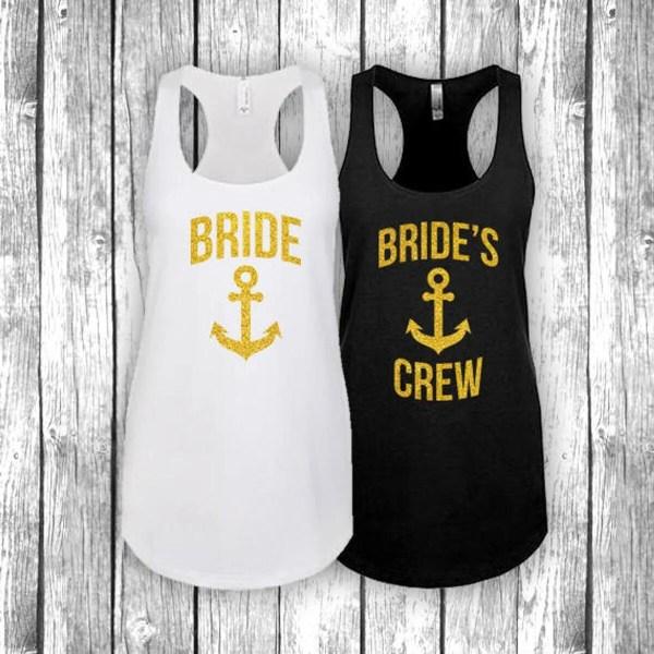 beach wedding bridesmaid shirt