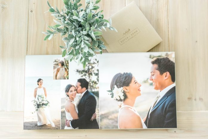 Layflat Wedding Photo Album