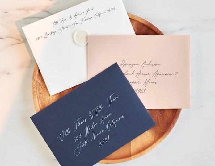 minted envelopes