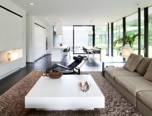Design woonkamer strak inrichten 9 ideen  Womanistical