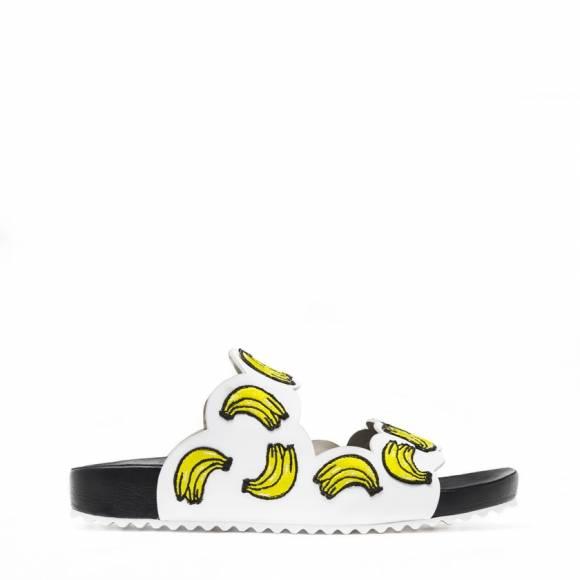 Sophia Webster Becky Banana White Slide