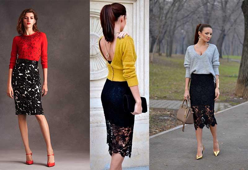 Πως να Φορέσεις Φούστα με Δαντέλα