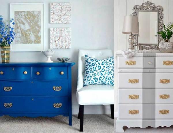 22 Ιδέες για να Ζωντανέψεις μια Παλιά Συρταριέρα