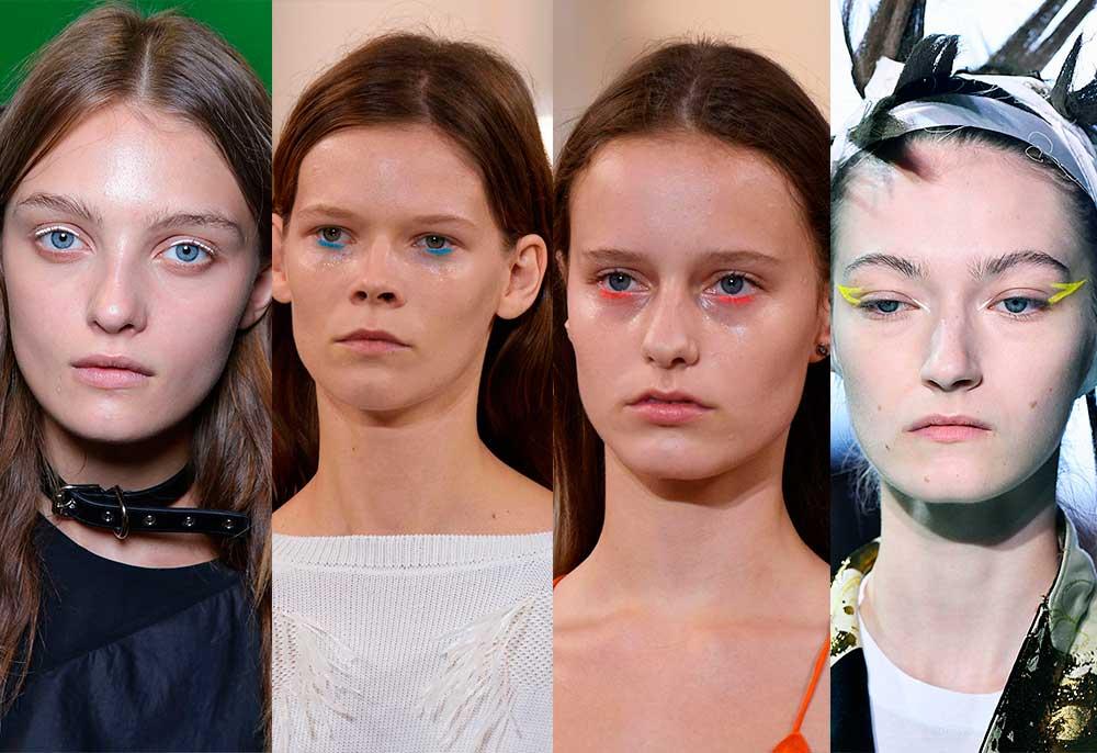 τάσεις μακιγιάζ άνοιξη 2017 καλοκαίρι - eyeliner