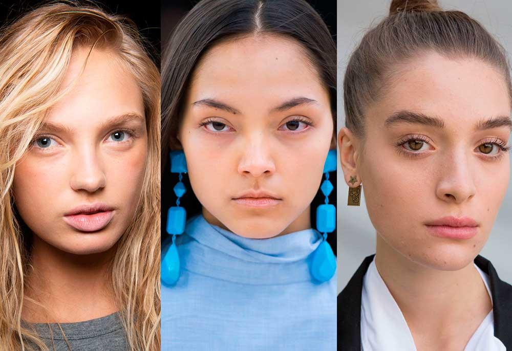τάσεις μακιγιάζ 2017 άνοιξη καλοκαίρι - no makeup