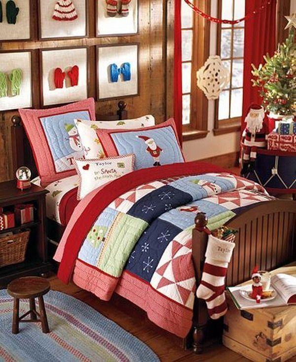 Χριστουγεννιατικο Παιδικό Δωμάτιο