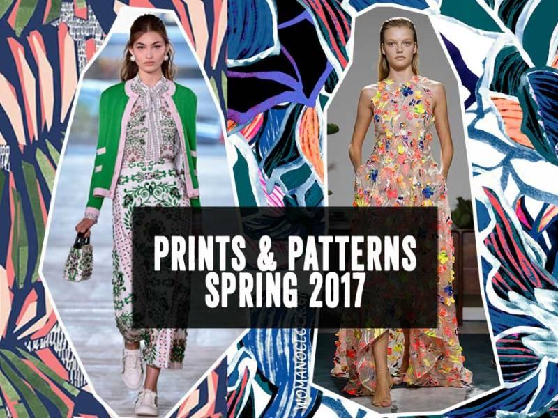 Print & Patterns για την Άνοιξη 2017 από το Fashion Week στη Νέα Υόρκη - womanoclock