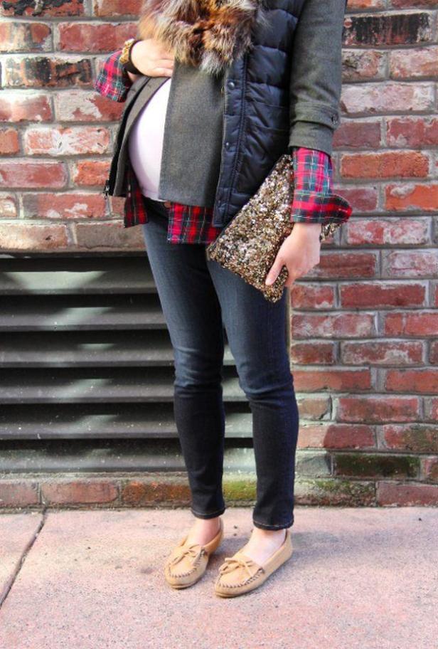 18 Chic Street Styles για Εγκύους - WOMANOCLOCK