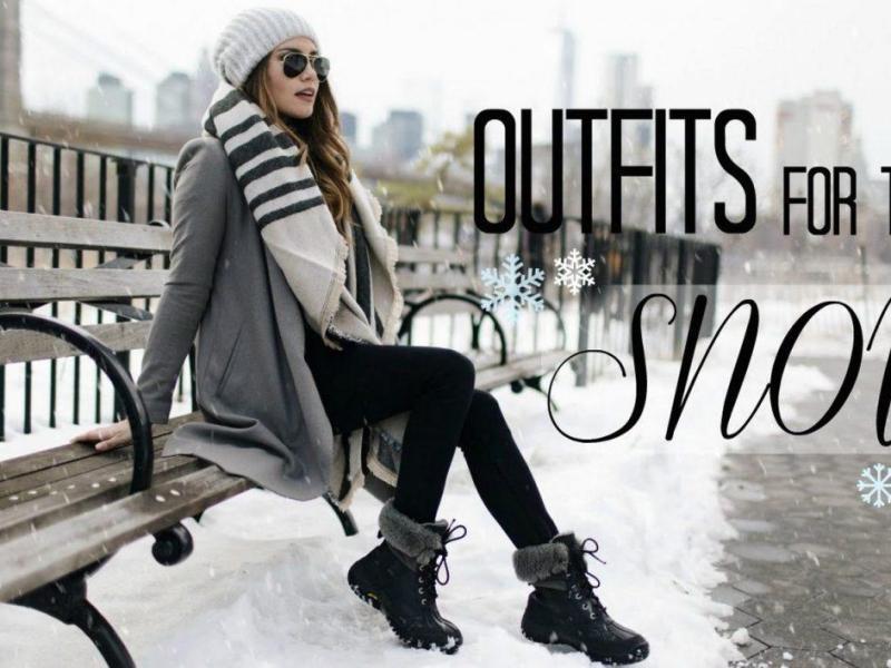 Τι να φορέσω τις ημέρες με χιονιά