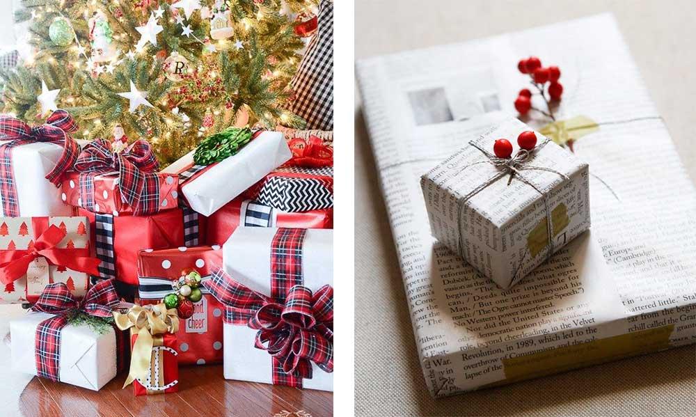 Δημιουργικές ιδέες να Τυλίξεις τα Χριστουγεννιάτικα Δώρα