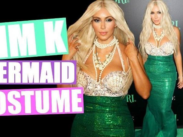 Πως να Φτιάξετε στολή Γοργόνας εμπνευσμένη από την Kim Kardashian