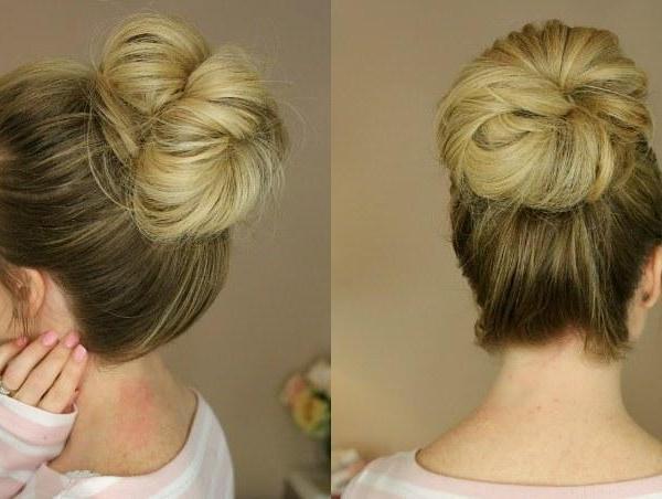 3 εύκολα χτενίσματα messy buns - womanoclock