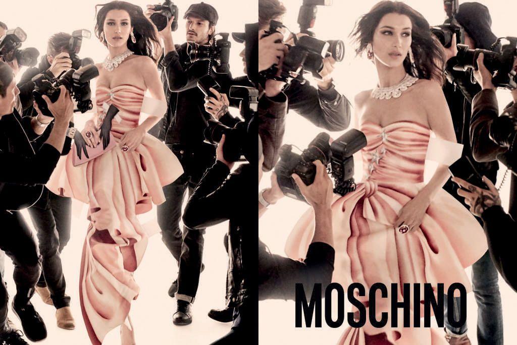 Καμπάνια Moschino άνοιξη καλοκαίρι 2017