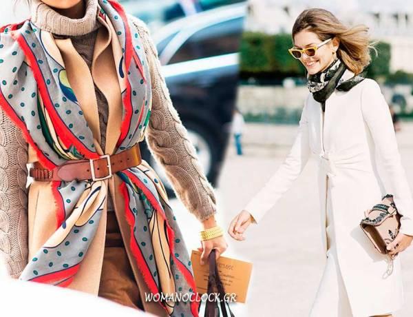 11 Εκλεκτοί Τρόποι να Φορέσεις το Φουλάρι σου