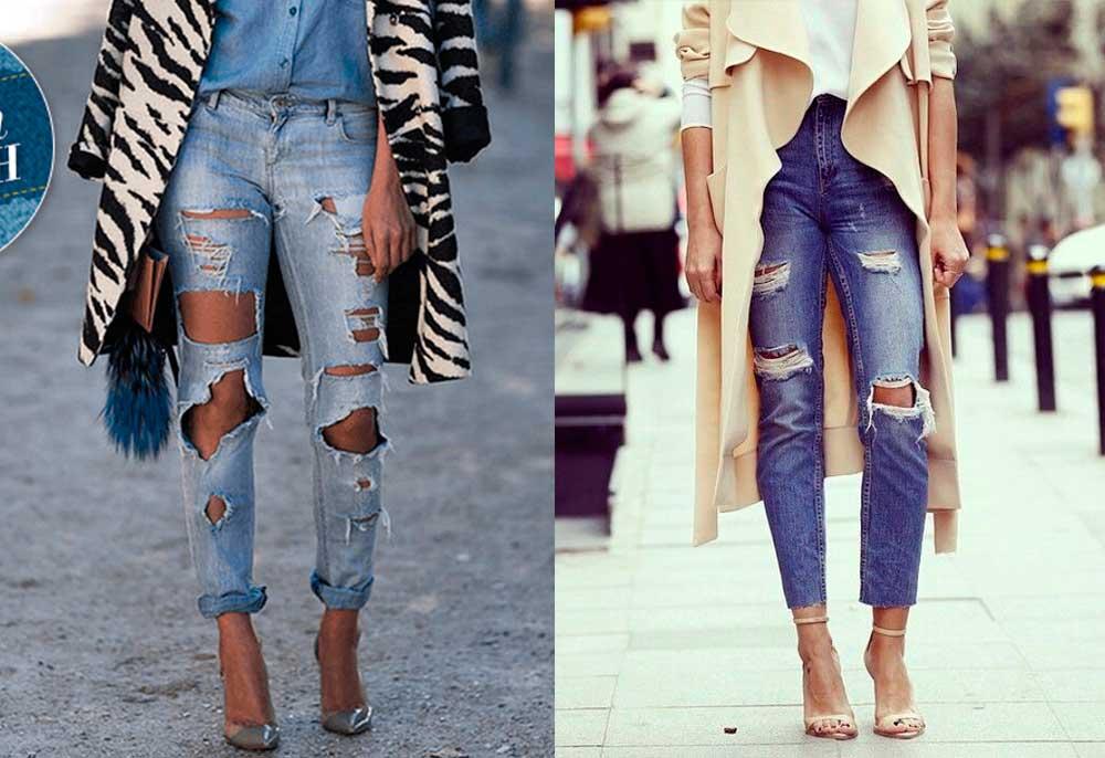 Ripped Jeans: Πως να σκίσετε τα Τζιν σας