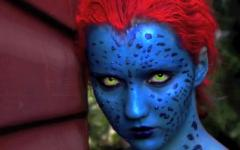 X-Men: Αποκριάτικη Αμφίεση Mystique (Jennifer Lawrence)