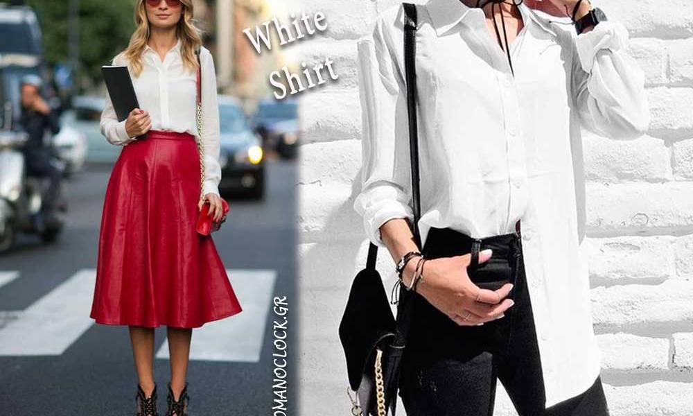 5797485f2f25 πως να φορέσεις το λευκό πουκάμισο. Οι πιο stylish τρόποι ...