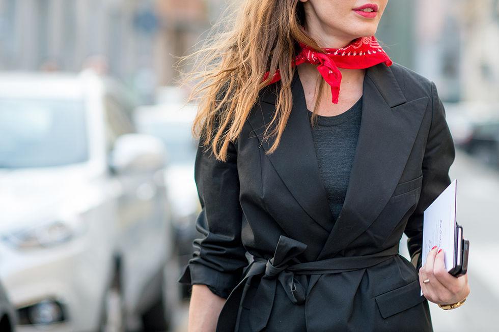 Πως να φορέσεις φουλάρι - womanoclock