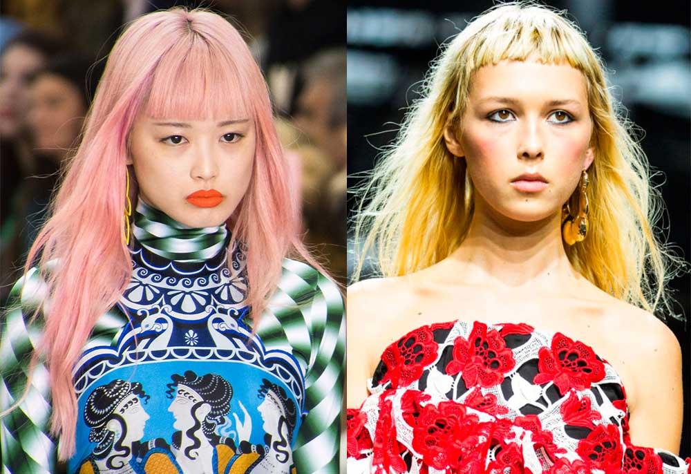 Χρώματα Μαλλιών 2017 Άνοιξη Καλοκαίρι - φαντεζί χρώματα